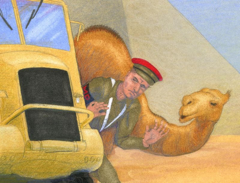 'Arthur In Egypt' - close-up 2