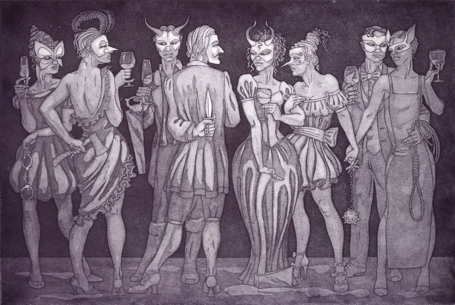 The Guilty Party (etching version)