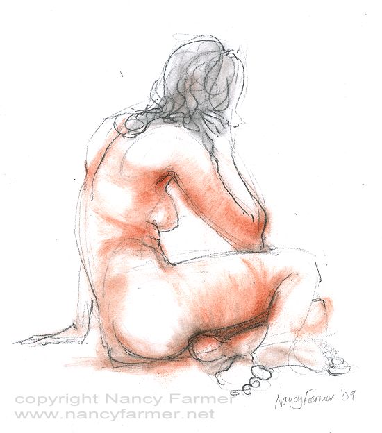 Life Drawing 2009-73 by Nancy Farmer