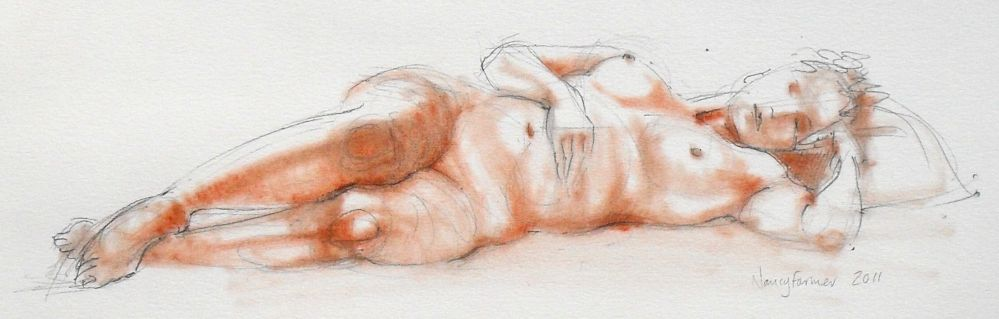 Life Drawing Sketch 2011-23 by Nancy Farmer